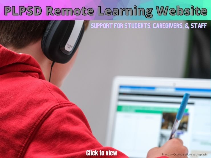 PLPSD Remote Learning Website